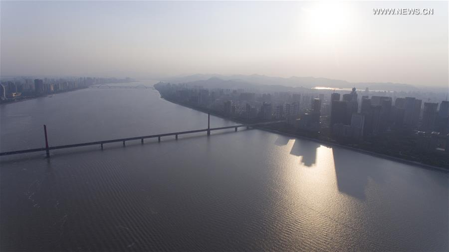 CHINA-ZHEJIANG-HANGZHOU-AERIAL VIEW (CN)
