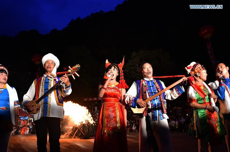 CHINA-YUNNAN-SONG FESTIVAL (CN)