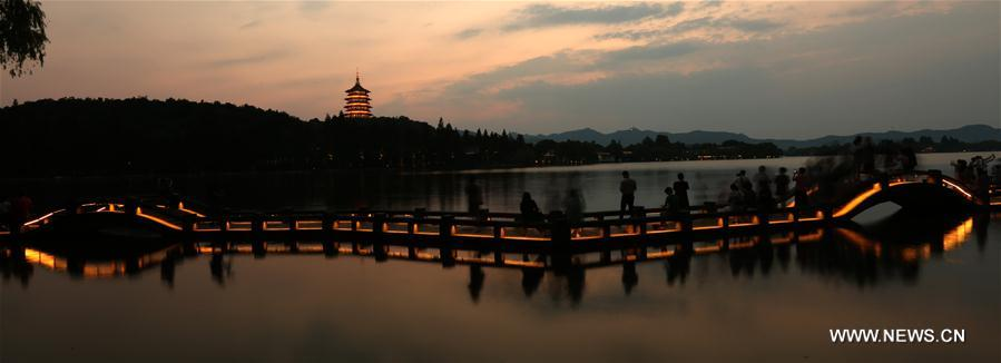 (G20 SUMMIT)CHINA-HANGZHOU-NIGHT SCENERY (CN)