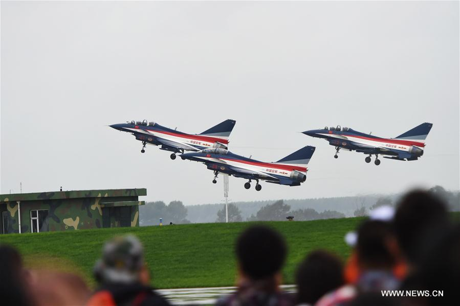 PLA Air Force Aviation Open Day held in NE China (8) - People's