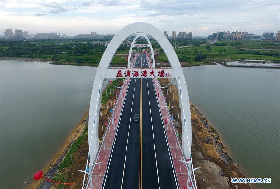 CHINA-HAINAN-BAY BRIDGE (CN)