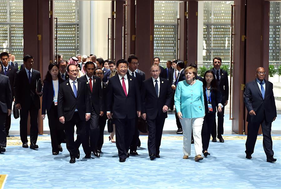 (G20 SUMMIT)CHINA-HANGZHOU-G20-XI JINPING-OPENING CEREMONY (CN)