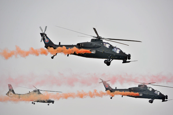 Army gets advanced, new combat helicopters