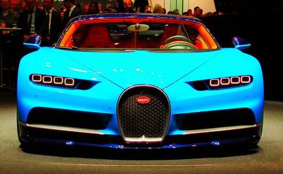 Chiron, one of the 'top 10 fastest cars in the world' by China.org.cn.