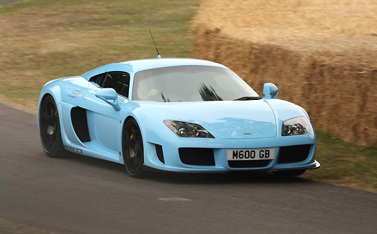 Noble M600, one of the 'top 10 fastest cars in the world' by China.org.cn.