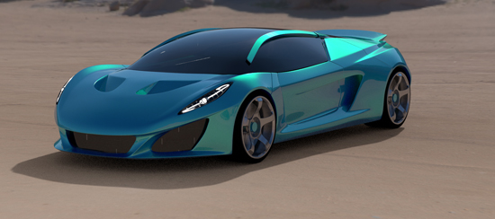 Keating Berus, one of the 'top 10 fastest cars in the world' by China.org.cn.