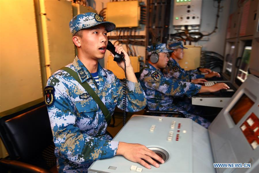 CHINA-RUSSIA-JOINT SEA 2016-DRILL (CN)