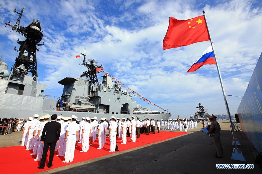 CHINA-GUANGDONG-RUSSIA-NAVY-JOINT DRILL (CN)