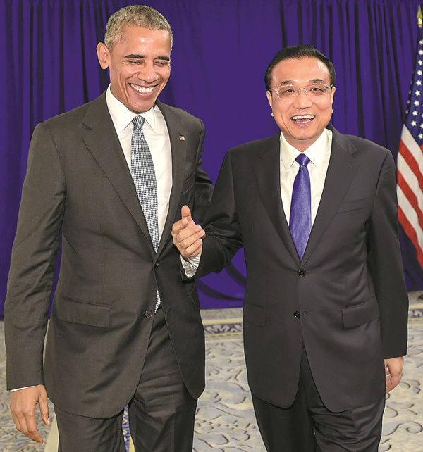 Li tells Obama of opposition to THAAD deployment plan