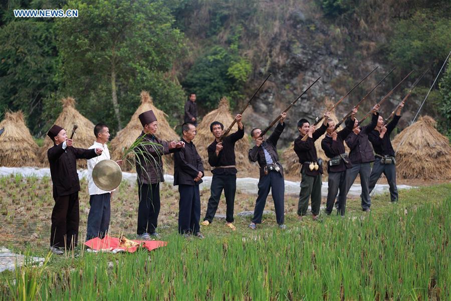 #CHINA-GUIZHOU-RONGJIANG-FISHING COOKING-FOLK FESTIVAL (CN)