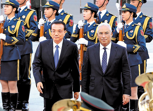 Li: Portugal may become bridge to other nations