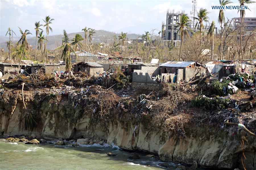 HAITI-GRAND ANSE-HURRICANE-MATTHEW