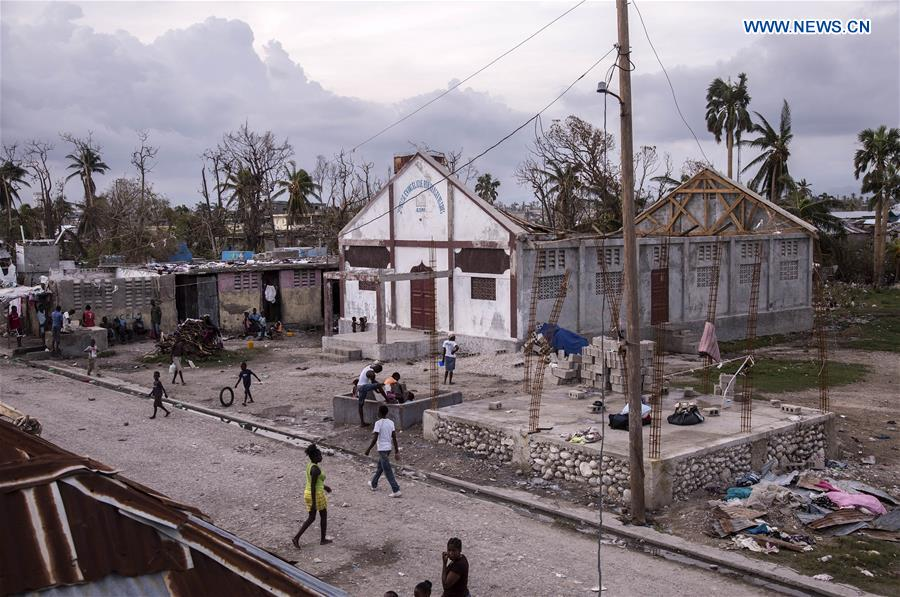 HAITI-LES CAYES-HURRICANE-AFTERMATH