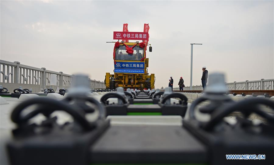 CHINA-LIAONING-HIGH SPEED RAILWAY-CONSTRUCTION (CN)