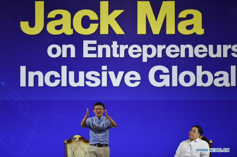 Jack Ma Shares Experience With Representatives Of Thailand S Young