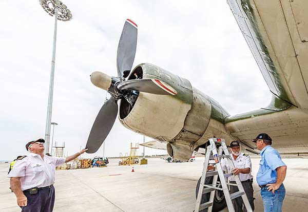 Aircraft flies final Hump to China