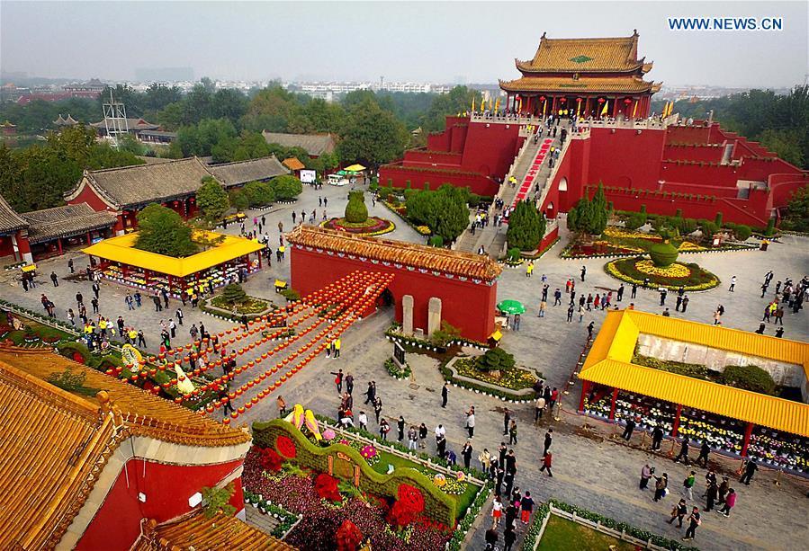 CHINA-HENAN-KAIFENG-CHRYSANTHEMUM (CN)