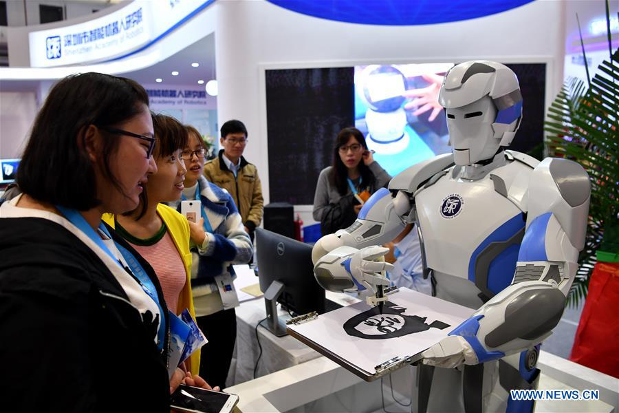 CHINA-BEIJING-WORLD ROBOT CONFERENCE (CN)