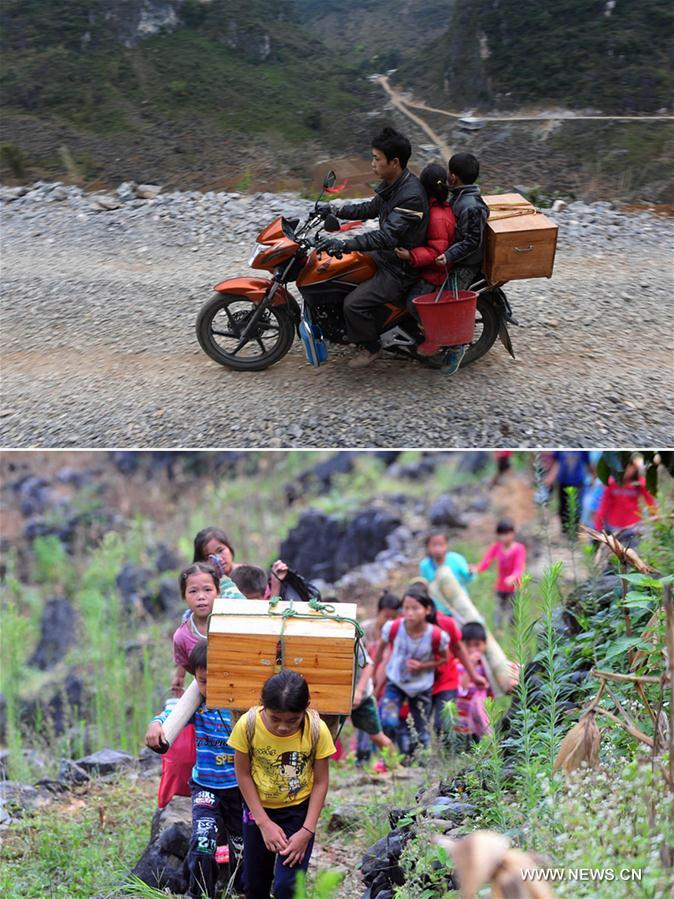 CHINA-GUANGXI-POVERTY ALLEVIATION-ROAD BUILDING (CN)