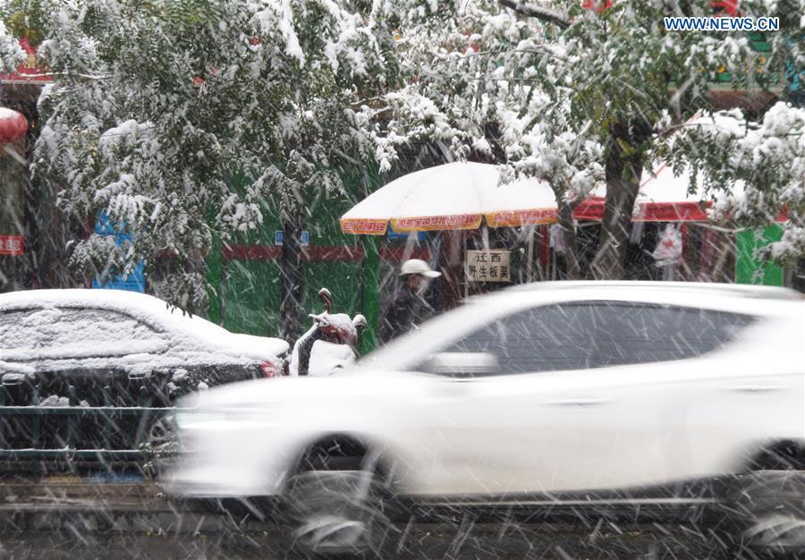#CHINA-GANSU-SNOWFALL (CN)