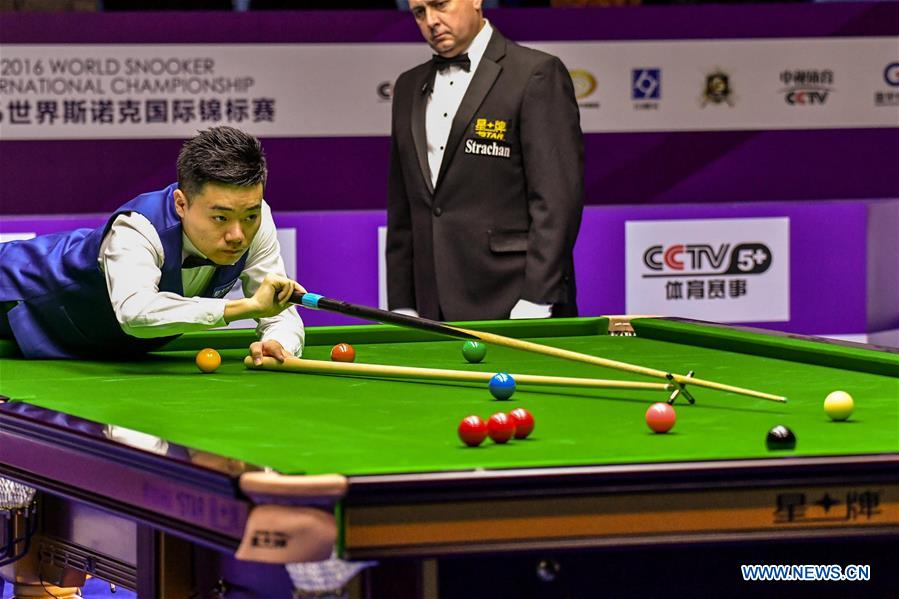 (SP)CHINA-DAQING-WORLD SNOOKER INTERNATIONAL CHAMPIONSHIP