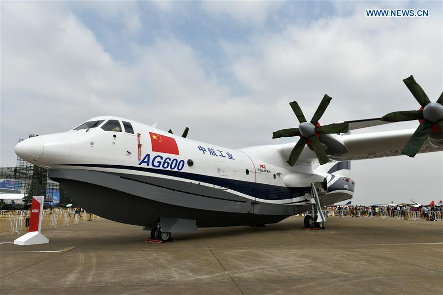 CHINA-ZHUHAI-AMPHIBIOUS AIRCRAFT(CN)