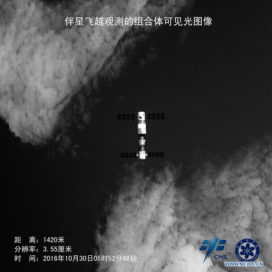 #CHINA-SCIENCE-SHENZHOU-11-TIANGONG-2-ACCOMPANYING SATELLITE(CN)