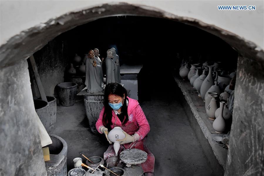 CHINA-HENAN-SHENHOU TOWN-JUN PORCELAIN (CN)