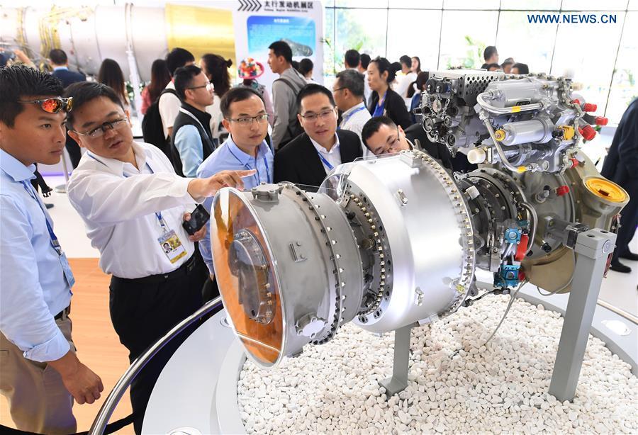 CHINA-ZHUHAI-AIRSHOW-TURBOSHAFT ENGINE (CN)