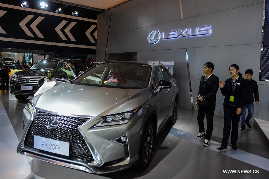 More than 100 brands with over 1,000 automobiles participated in the expo kicking off on Thursday.