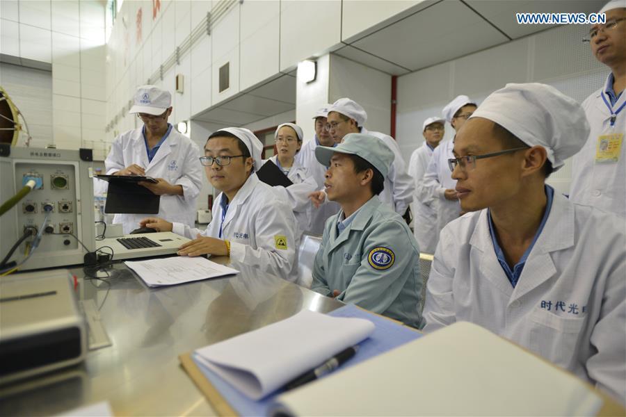#CHINA-WENCHANG-LONG MARCH-5-PREPARATION (CN*)