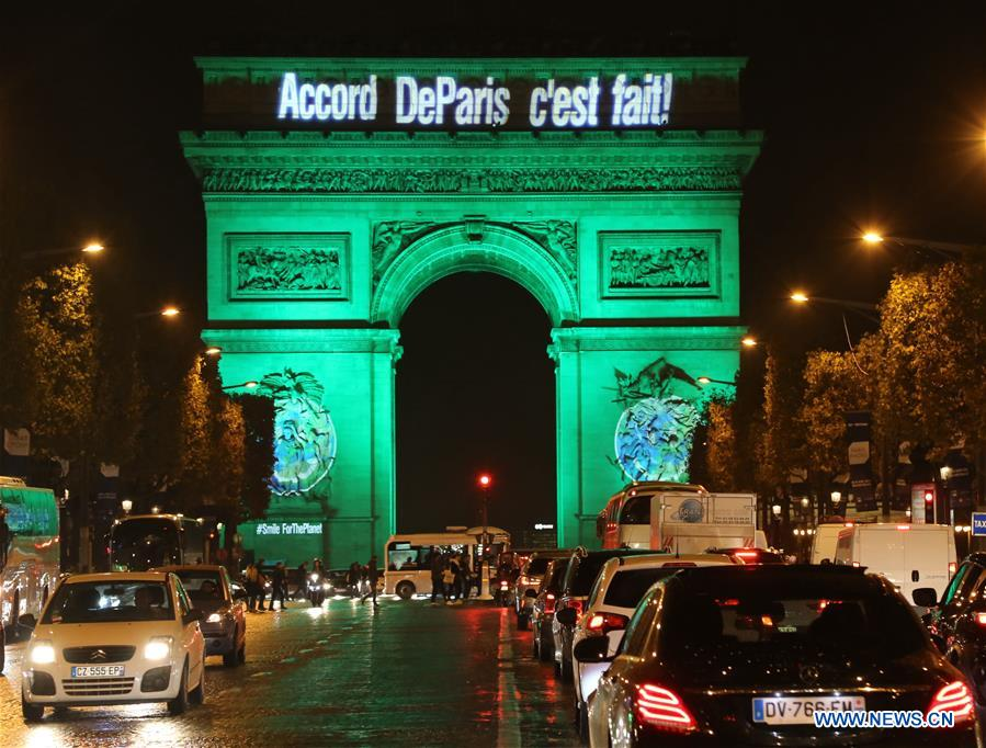 FRANCE-PARIS-PARIS AGREEMENT-CELEBRATION
