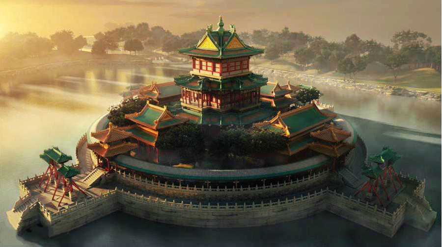 Modern technology brings back digital Old Summer Palace