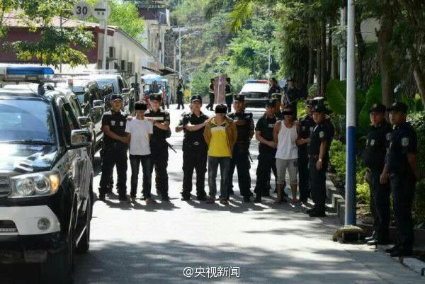 4名毒販潛入雲南槍殺緝毒民警被抓