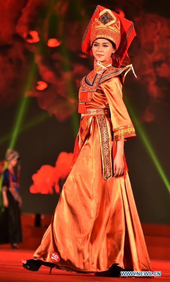 CHINA-GUANGXI-JINXIU-YAO ETHNIC GROUP-FASHION SHOW (CN)