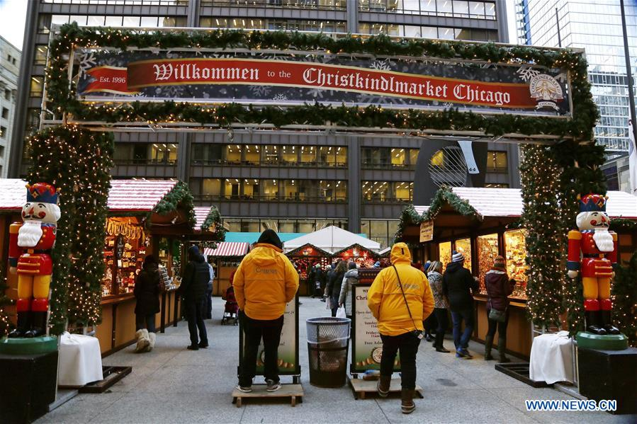 us chicago christmas market - Chicago Christmas Market