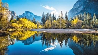 中国侨网图为美国国家公园一景。 资料图片