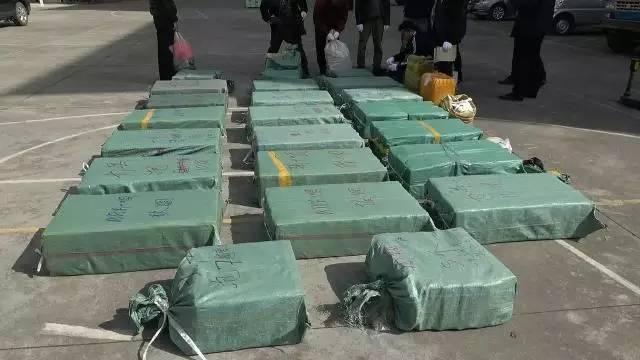 云南德宏警方破获特大武装贩毒案 缴获毒品660斤