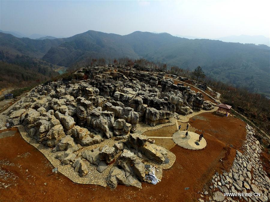 #CHINA-ANHUI-YIXIAN-STONE FOREST (CN)