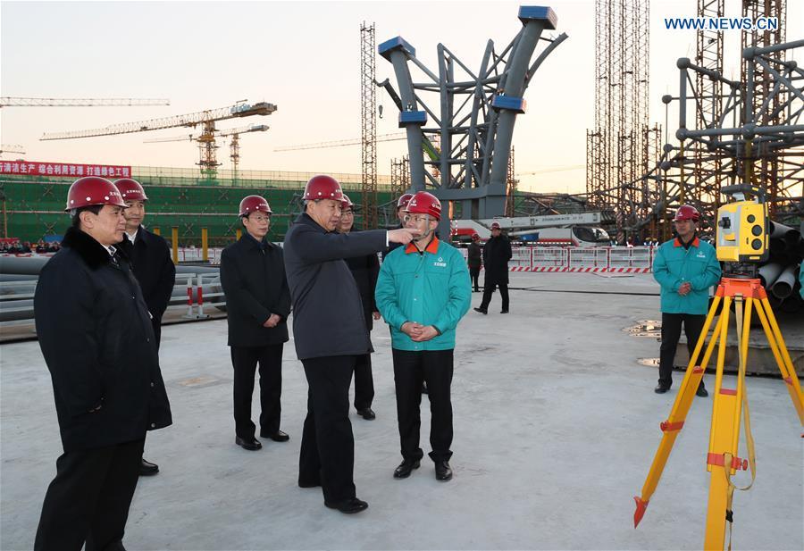 CHINA-BEIJING-XI JINPING-INSPECTION (CN)
