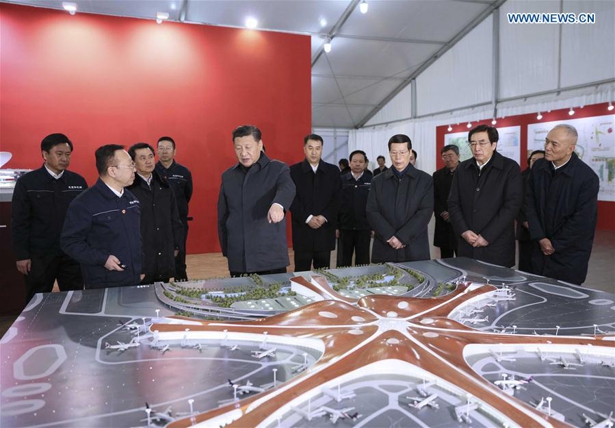 CHINA-BEIJING-XI JINPING-INSPECTION (CN)