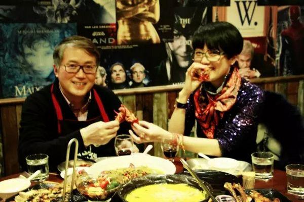 红学家潘知常教授与倪琳