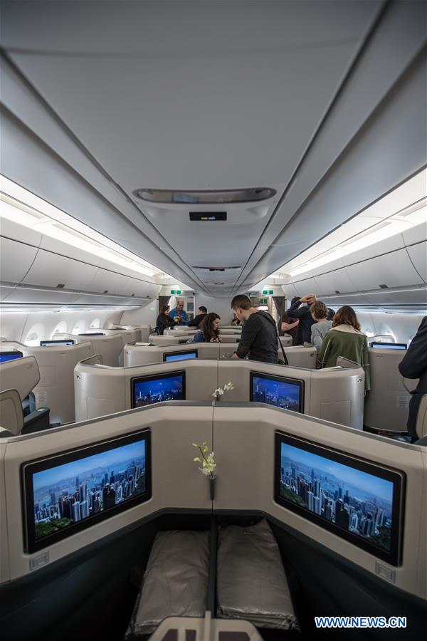 Cathay Pacific launches new flight linking Hong Kong and Tel Aviv
