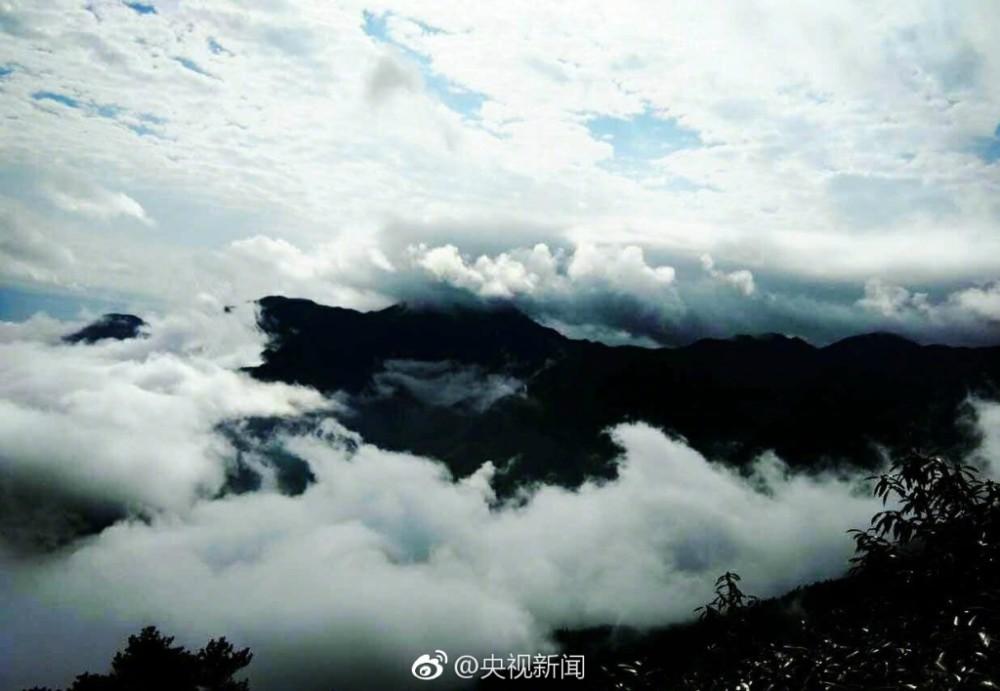 壯觀!廬山現瀑布雲 流轉山澗【7】