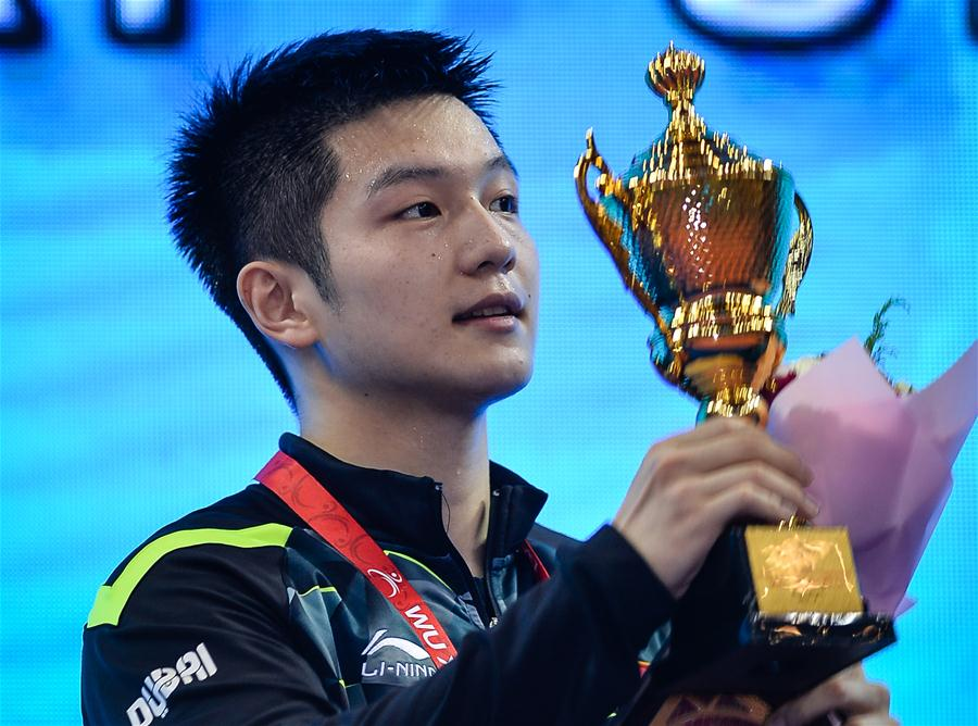 (SP)CHINA-WUXI-TABLE TENNIS-ASIAN CHAMPIONSHIPS-MEN'S SINGLES-FINAL(CN)