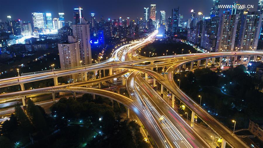 CHINA-SHANGHAI-AERIAL VIEW (CN)