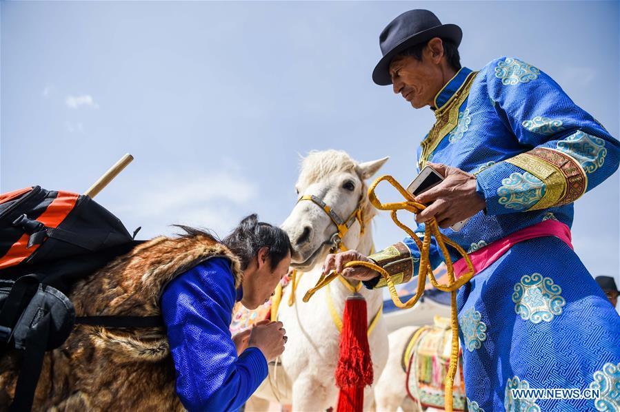 Memorial ritual for Genghis Khan held in China's Inner Mongolia