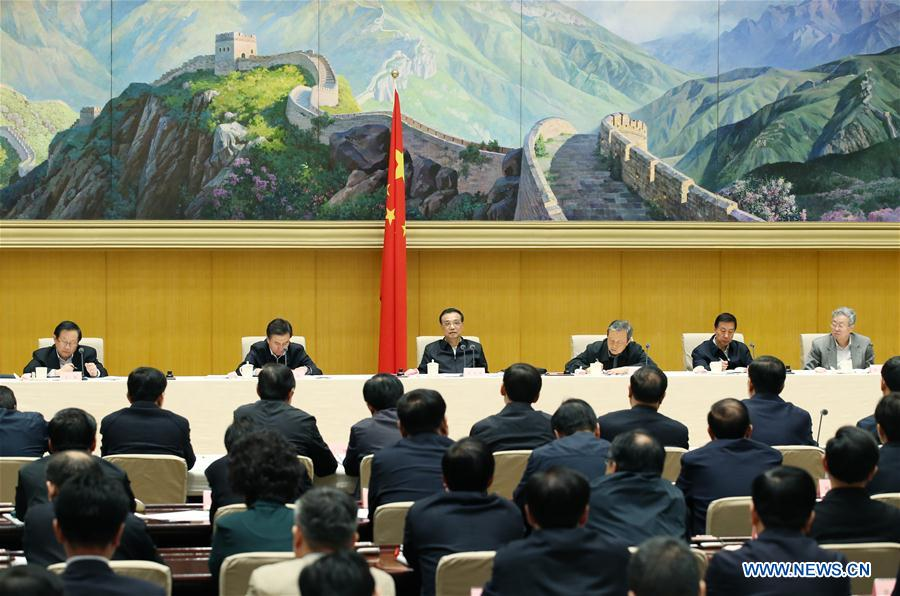 China's premier stresses shift of growth engines