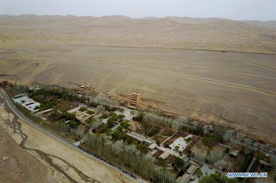 CHINA-GANSU-DUNHUANG-SCENERY (CN)