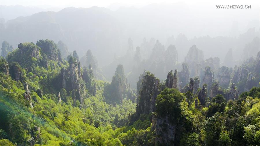 CHINA-ZHANGJIAJIE-SCENERY (CN)
